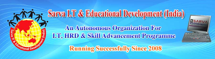 SARVA- Computer Education FRANCHISE, Affiliation