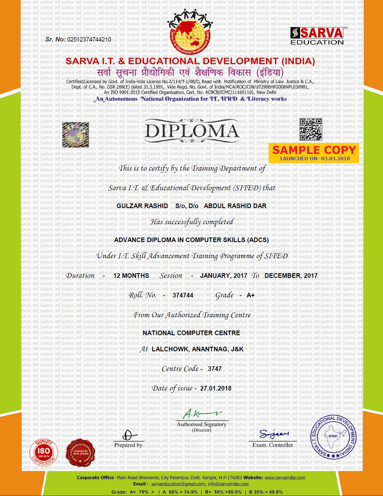Valid computer certificate courses for new computer institute computer software courses center franchise software institute franchise offer online digitel marketing animation yelopaper Image collections