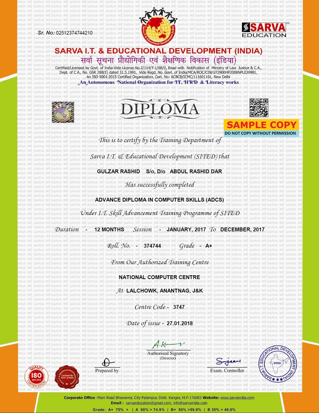 Valid Computer Certificate Computer Diploma Courses Computer